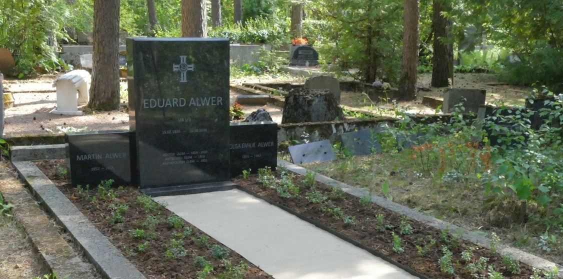 Kalmu ja hauakivi kujundamine